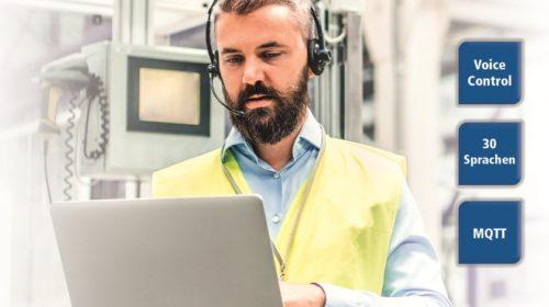 Industrial Voice Control – Sprachsteuerung für die Industrie