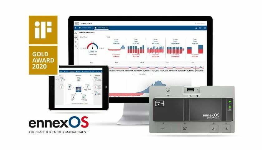 IoT Plattform für Energiemanagement ennexOS von SMA